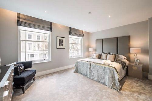 Cortinas modernas para habitación dematrimonio