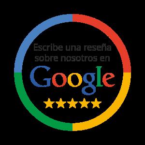 Escribir reseña en Google